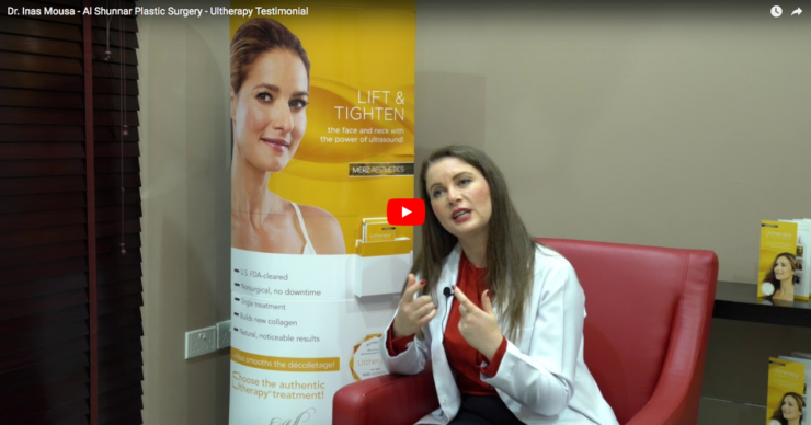 Dr. Inas Mousa from Al Shunnar Plastic Surgery talks about Ultherapy
