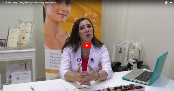 Dr. Chadan Nagi from Obagi Medispa talks about Ultherapy